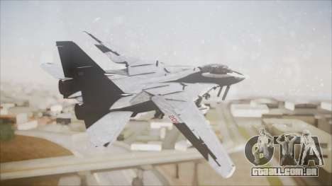 F-14B Bombcat VF-11 Red Rippers para GTA San Andreas esquerda vista