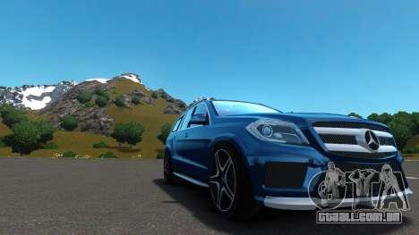 Mercedes-Benz GL 63 AMG para GTA 4 vista interior