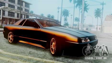 Elegy New Edition para GTA San Andreas vista traseira
