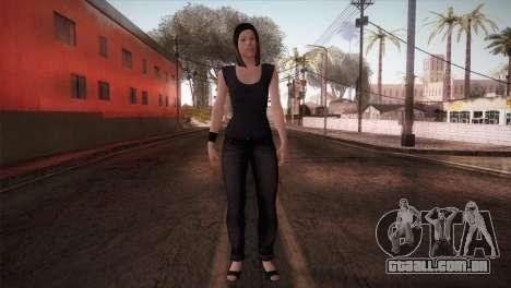 Mecgrl HD Model para GTA San Andreas segunda tela
