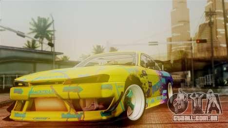 Nissan Silvia S14 Kouki Matt Faileds para GTA San Andreas vista direita