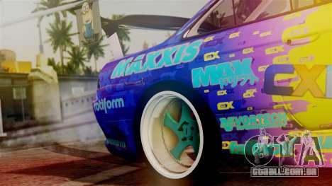 Nissan Silvia S14 Kouki Matt Faileds para GTA San Andreas vista traseira