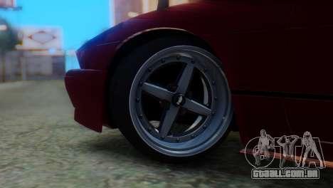 Nissan Silvia S13 Shakotan para GTA San Andreas traseira esquerda vista