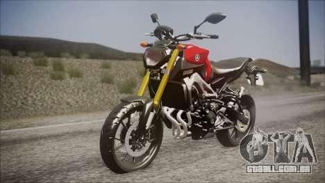 Yamaha MT-09 para GTA San Andreas