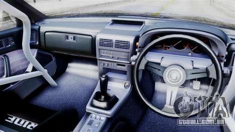 Mazda RX-7 (FC) para GTA San Andreas traseira esquerda vista