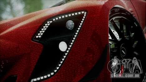 Bertone Mantide 2010 para GTA San Andreas traseira esquerda vista