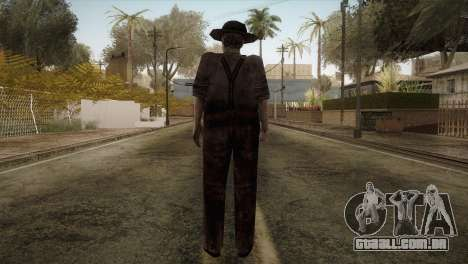 RE4 Don Diego para GTA San Andreas terceira tela