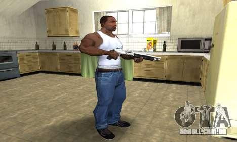 Silver Shotgun para GTA San Andreas terceira tela