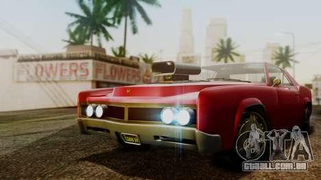 GTA 5 Albany Virgo para GTA San Andreas