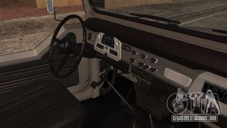 Toyota Land Cruiser J40 1980 para GTA San Andreas vista direita