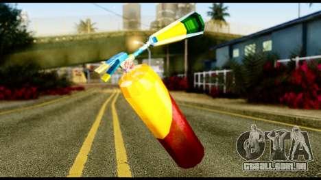 Brasileiro Fire Extinguisher para GTA San Andreas segunda tela