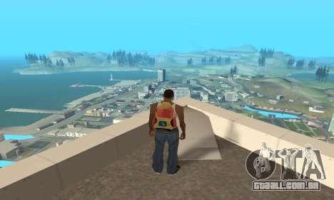Aumentar a amplitude de vetorização para GTA San Andreas segunda tela