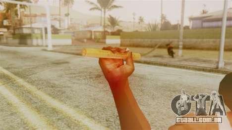 Red Dead Redemption TNT Sergio para GTA San Andreas terceira tela