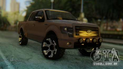 Ford F-150 2013 Work Hard para GTA San Andreas