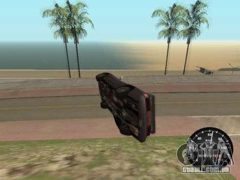 Velocímetro de GÁS 52 para GTA San Andreas segunda tela