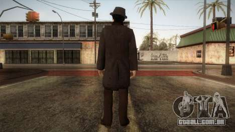 Sherlock Holmes v2 para GTA San Andreas terceira tela