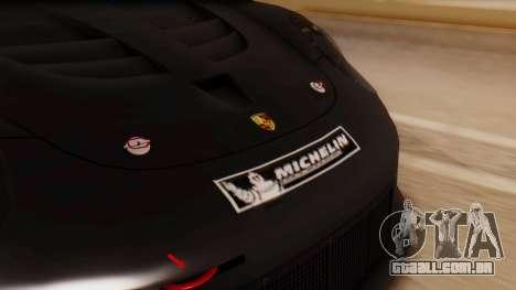 Porsche 911 RSR para GTA San Andreas vista traseira