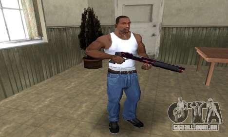 Redl Shotgun para GTA San Andreas terceira tela