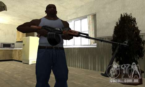 Velho MAG para GTA San Andreas terceira tela