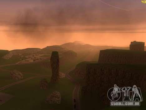 Verde deserto de Las Venturas v2.0 para GTA San Andreas quinto tela
