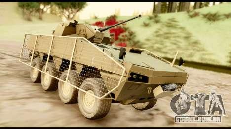 KTO Rosomak M1M Desert para GTA San Andreas