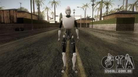 I am a Robot Skin para GTA San Andreas segunda tela