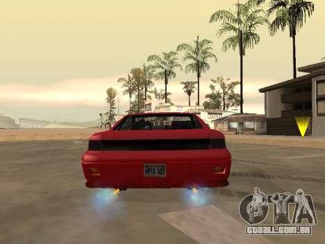 Remover o desfoque quando você ativar o nitro para GTA San Andreas terceira tela