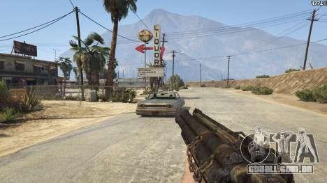 GTA 5 Mob of the Dead Blundergat quinta imagem de tela