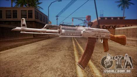 AK-47 v5 from Battlefield Hardline para GTA San Andreas