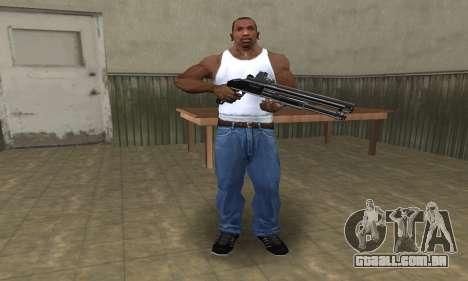 Shotgun HD para GTA San Andreas terceira tela