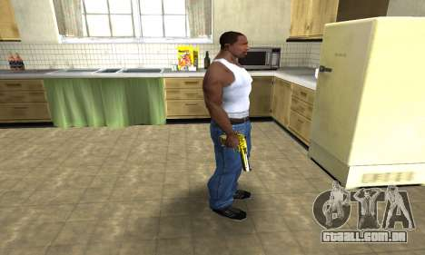 Yellow Deagle para GTA San Andreas terceira tela