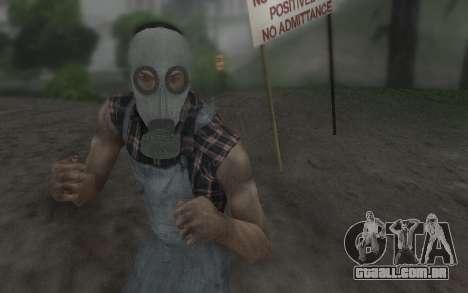 A máscara Virtus para GTA San Andreas segunda tela
