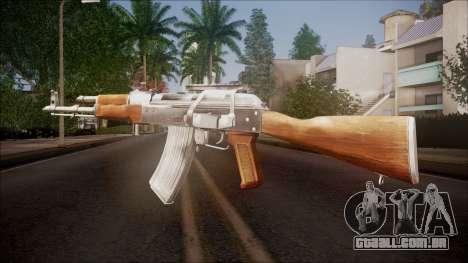 AK-47 v1 from Battlefield Hardline para GTA San Andreas segunda tela