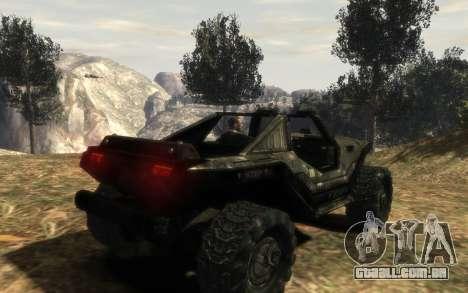 Conselho de segurança DA onu M12 warthog do Halo para GTA 4 esquerda vista