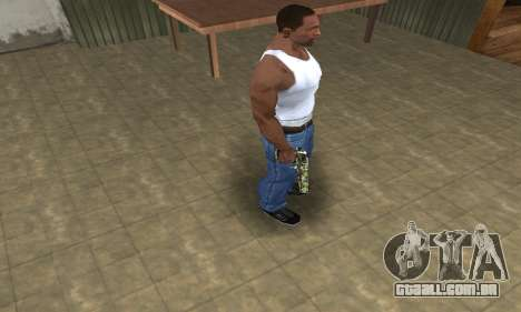 Lable Deagle para GTA San Andreas terceira tela