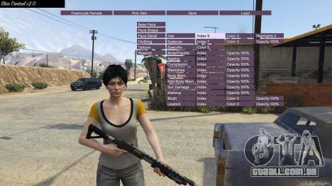 GTA 5 Skin Control 2.0 segundo screenshot
