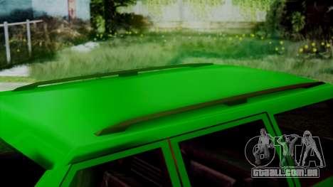 Landstalker New Edition para GTA San Andreas vista direita