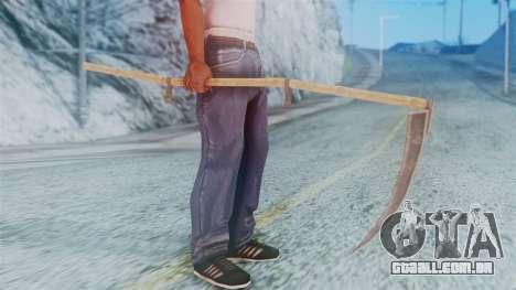 Red Dead Redemption Scythe para GTA San Andreas terceira tela
