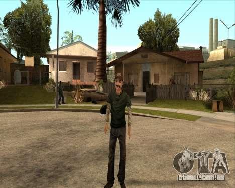 Kenny from Walking Dead para GTA San Andreas terceira tela