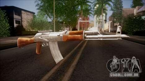 AK-47 v1 from Battlefield Hardline para GTA San Andreas