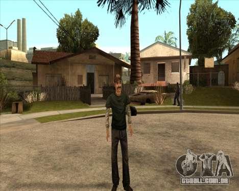 Kenny from Walking Dead para GTA San Andreas