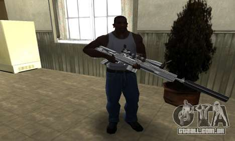 Original Sniper Rifle para GTA San Andreas terceira tela