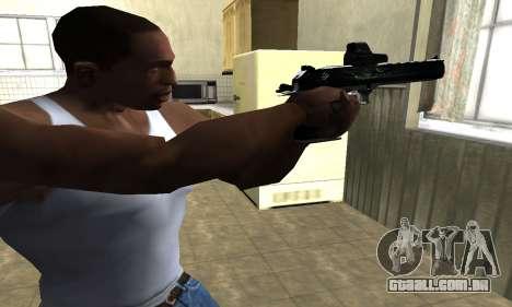 Blue Deagle para GTA San Andreas segunda tela