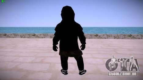 Black Guy para GTA San Andreas por diante tela