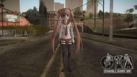 Kanzaki H Aria [Hidan no Aria] para GTA San Andreas segunda tela