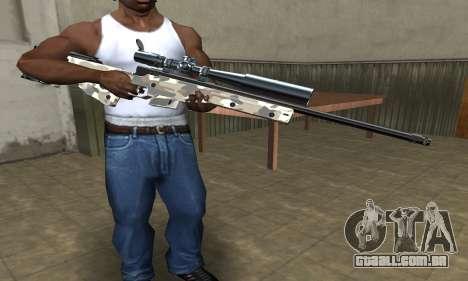 Sniper War para GTA San Andreas