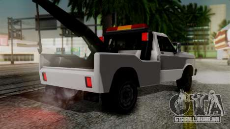 Towtruck New Edition para GTA San Andreas esquerda vista
