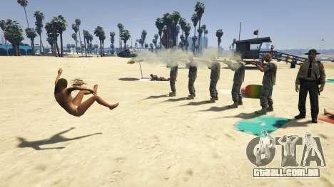 GTA 5 Firing Squad quarto screenshot