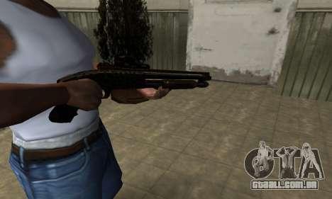 Leopard Shotgun para GTA San Andreas segunda tela