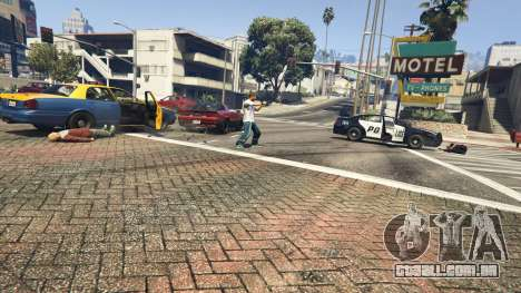 GTA 5 Police Chase Random Event quarto screenshot